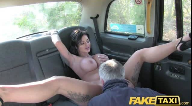 What do you think will happen if you take a hot widow in a taxi?