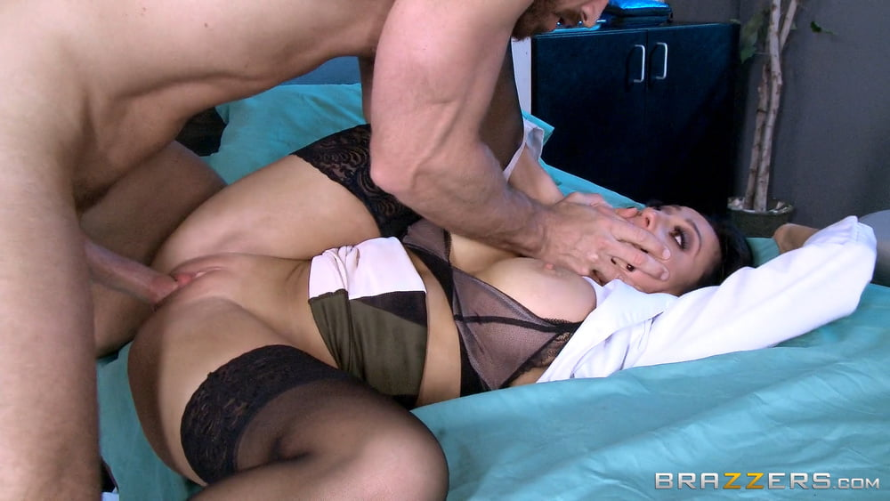 Audrey Bitoni and Johnny Sins hospital porn pictures
