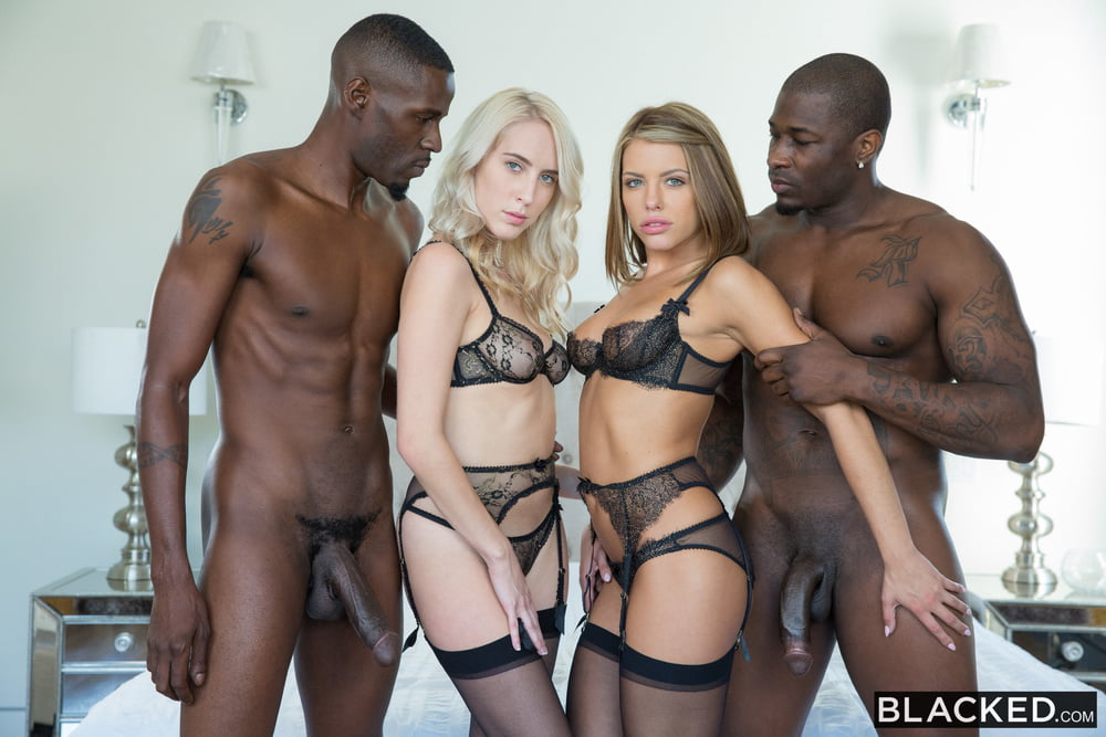 Adriana Chechik and Cadence Lux black group sex!