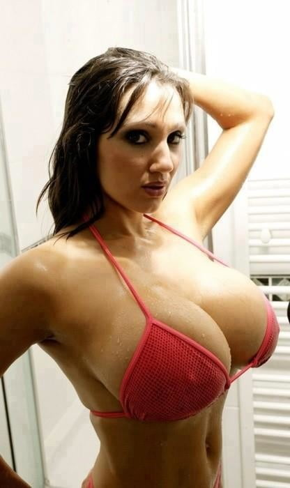 Horny babes with big tits and lingerie