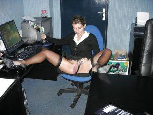 Amateur french horny secretaries
