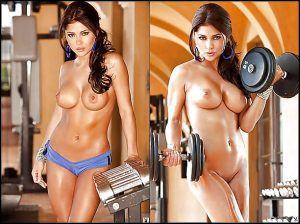 Sexy pictures of girls at the gym!
