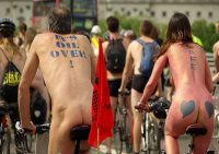 Free and naked bike ride!